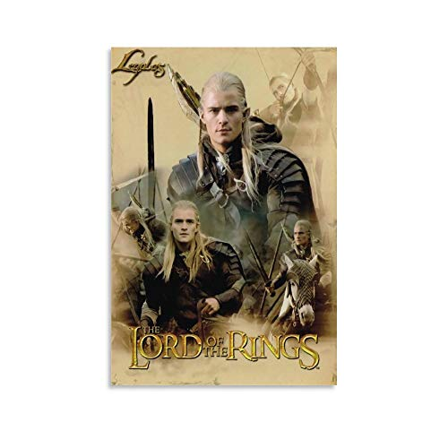 DRAGON VINES Poster / Wandbild, Motiv: Der Herr der Ringe Hobbit Legolas, 20 x 30 cm