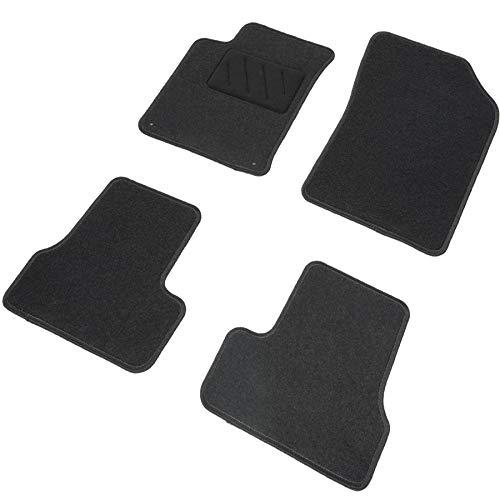 DBS Tapis de Voiture - sur Mesure pour QASHQAÏ (2007-2013) - 4 pièces - Tapis de Sol antidérapant pour Automobile - Moquette Basic