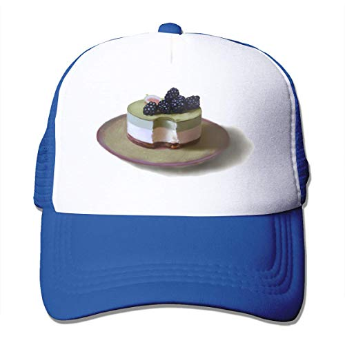 VTYOSQ Dessert Unisex Strapback Baseball Caps Adult Mesh Rock Hüte Verstellbarer Snapback