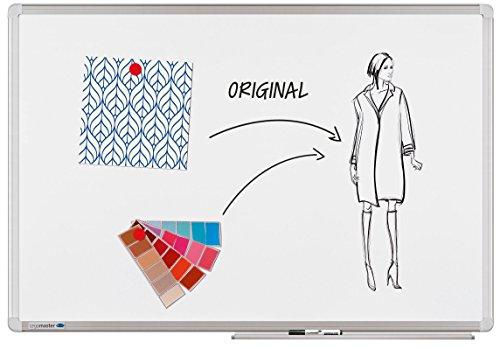 Preisvergleich Produktbild Legamaster 7-102143-1 Universal Plus Whiteboard,  e3-emailliert,  Sichtverpackung ,  90 x 60 cm