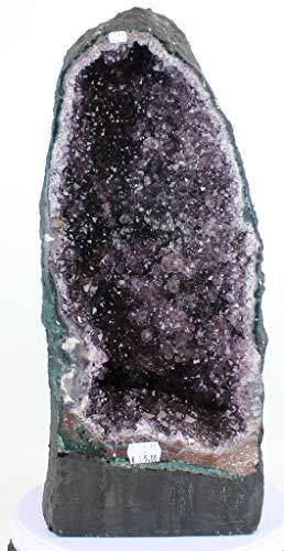 Preciosa Geoda de Amatista/Drusa Natural del Brasil - Calidad Extra/Medidas: 13,65 KG - 45 x 19 x 21 CM