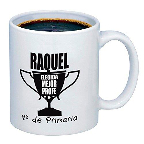 Calledelregalo Regalo para Profesores Personalizable: Taza para el Mejor profe Personalizada con...