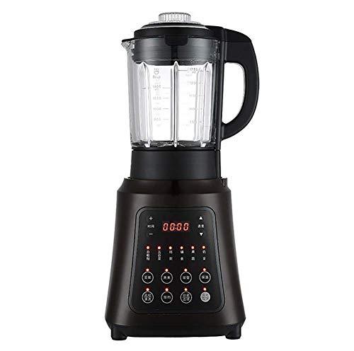 JXWWNZ Standmixer Smoothie Maker, 800W Smoothie Blender, Schleifer und EIS-Zerkleinerungsmaschine, 35.000 U/min, 1.75L Tritan-Behälter Ohne BPA.