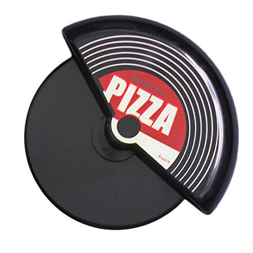 Fisura | Cortapizzas Originales Circular. Cortador de Pizza Original. 7,5 x 5,5 cm. (Vinilo)