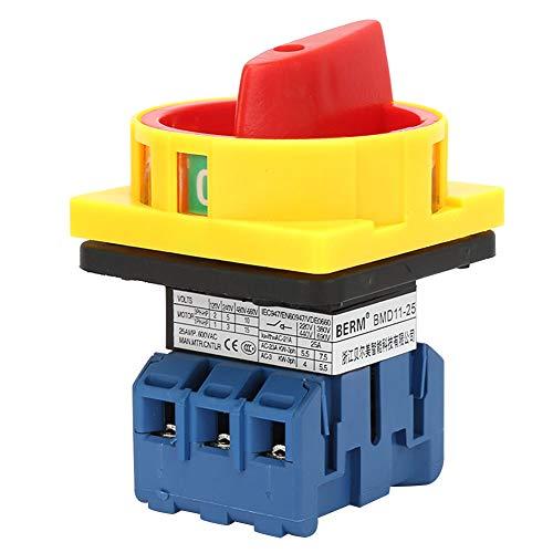 Interruptor de interruptor de circuito de carga eléctrica, material premium plástico hecho...