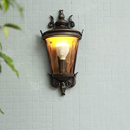 Mkj Wandlamp, Allee, lampen, spiegels, hoofdlampen, gang, wandlampen, buiten, vintage, van gegoten aluminium, wandlamp, lampen, landschap, lantaarn
