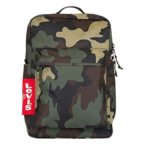 Levi's Herren L Pack Backpack Rucksäcke, Camouflage, Einheitsgröße