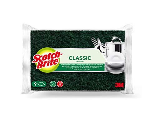 Scotch Brite 7100223066 Klassischer Scheuerschwamm, grün