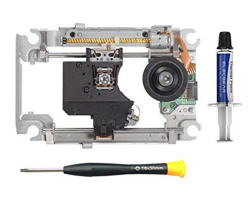 PS4 Laser Schlitten KEM-490AAA mit KES-490A Lasereinheit - Ersatz Blu-ray Laufwerk DVD Lens Deck Rahmen Slide Schiene, Diskmotor Spindelmotor und Laserzelle Laserdiode für Playstation 4 CUH-11xx