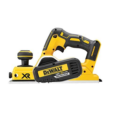 Dewalt DCP580NT-XJ Cepillo para madera XR 18V Brushless, incluye caja de herramientas...