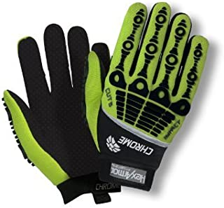 HexArmor Chrome Series Impact Cut & Puncture Resistant Gloves CE4521 - 4026-7 - Small by HexArmor