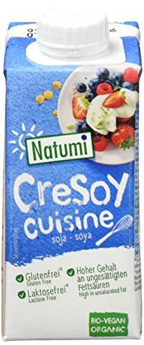 Natumi CreSoy Soya Sahne Bio, 15er Pack (15 x 200 ml)