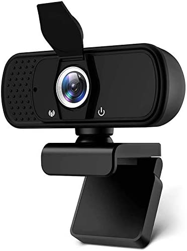 2021 New 1080P Webcam with Microphone for Desktop Computers Web Cameras Streaming Webcam with product image