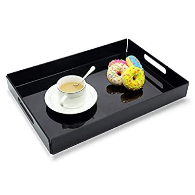 Large Black Acrylic Butlers Tray