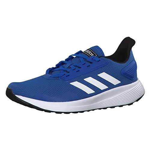 Adidas Duramo 9, Zapatillas de Running Hombre, Azul (Blue/Footwear White/Core Black 0), 44 EU