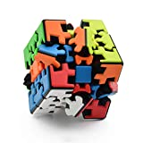 RainbowBox Gear Cube 3×3 Gear Magic Cube Stickerless 3D Puzzle Gear Cube Twisty 3D Puzzle Brain Teasers Puzzles Toys