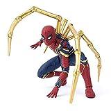 Action Figure SHF Iron Spiderman Marvel SHF Avengers: Infinity War Modello Personaggio Animato 16cm