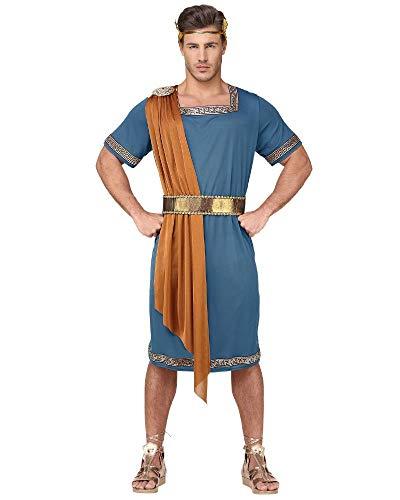 Widmaan Costume Carnevale Uomo Imperatore Romano PS 15895-S