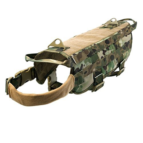 Ultrafun Tactical Dog Molle Vest Military Training...