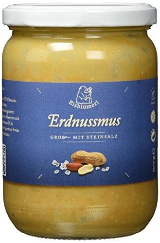 Eisblümerl Bio Erdnussmus grob mit Salz, 2er Pack (2 x 500 g)