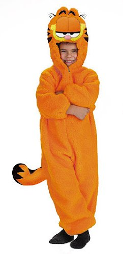 Amazon Com Kids Plush Garfield Costume Small Toddler Toys Games