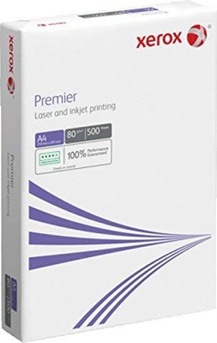 Xerox 003R91720 Premier Kopierpapier Druckerpapier Universalpapier DIN A4, 80 g/m², 500 Blatt, weiß