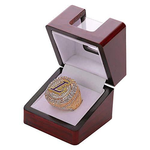Championship Rings Anello del campionato NBA dei Los Angeles Lakers 2020 James rimovibile - Diametro 22,1 mm circonferenza 69,6 mm