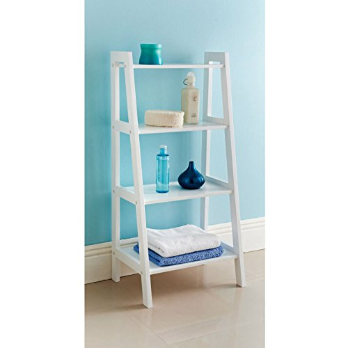 Terrific Bathroom Ladder Shelf Amazon Co Uk Beutiful Home Inspiration Truamahrainfo