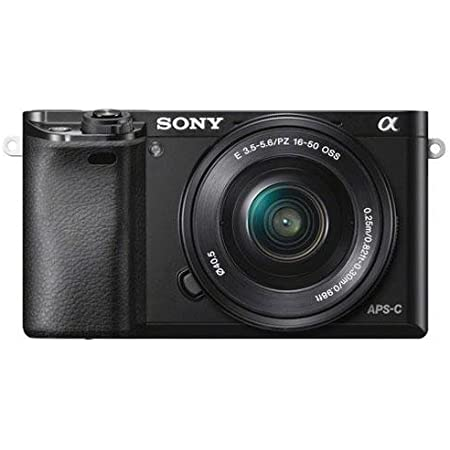 Sony Alpha a6000 Mirrorless Digital Camera with 16-50mm Power Zoom Lens (Renewed)