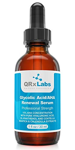 QRx Labs Glycolic Acid/AHA 15% Renewal Serum
