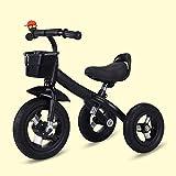 Triciclo Evolutivo Toral 2 en 1 Triciclo para niños con pedal, bicicleta de entrenamiento al aire libre ajustable en altura, para niños de 2 a 5 años de edad, niñas, regalo de cumpleaños, bicicleta de