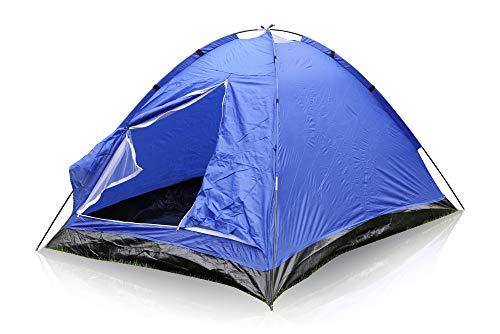 Mediablue Iglu-Zelt für 2 Personen, Blau,200 x 135 x 90 cm