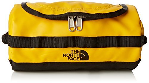 The North Face Unisex Kulturbeutel Base Camp, summit gold/tnf black, 24 x 12,5 x 12,5 cm, 3,5 liters, ASTP