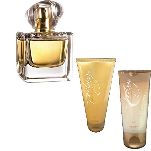 Avon Today Tomorrow Always Geschenkset Eau de Parfum 50 ml Bodylotion Duschgel für Sie