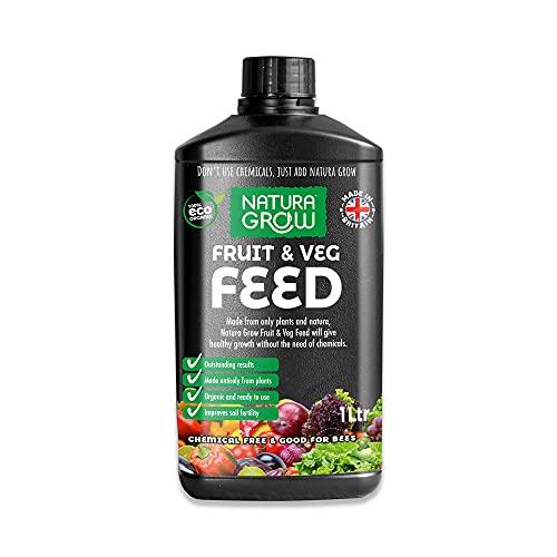 Natura Grow Fruit & Veg Feed 1L Liquid   Peat-free, organic, natural...
