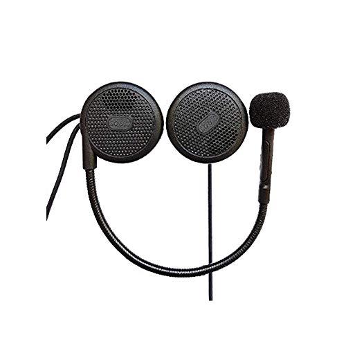 Motorrad Helm Bluetooth Headset Kopfhörer L1M, 10 Sekunden Anrufe automatisch beantworten, Mikrofon MP3 Dedicated Helm Headset Kopfhörer