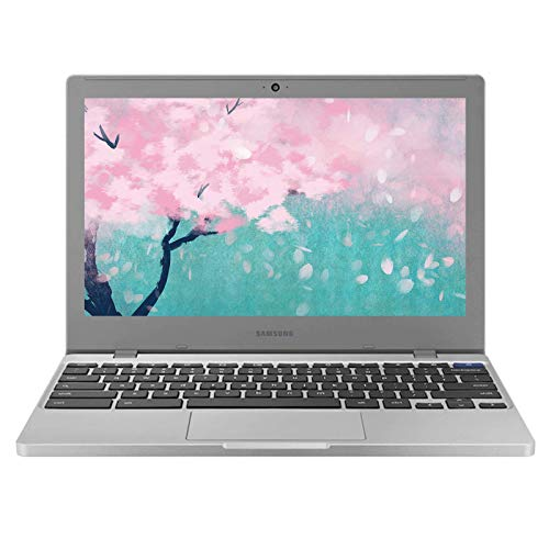2021 Newest Samsung Chromebook 4 11.6 Inch Laptop, Intel Celeron N4000 up to 2.6 GHz, 4GB LPDDR4 RAM, 32GB eMMC, WiFi, Bluetooth, Webcam, Chrome OS + NexiGo 128GB MicroSD Card Bundle