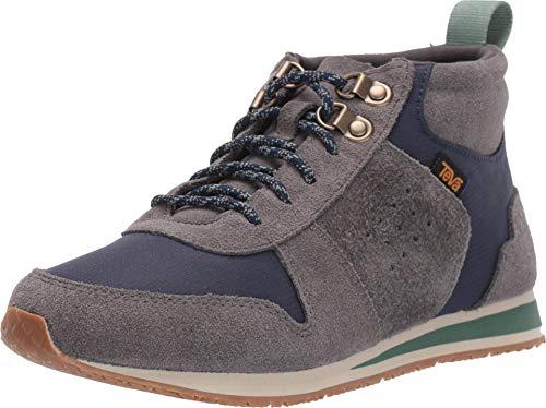 Teva New Women's Highside '84 Mid Retro Sneaker Dark Gull Grey 8