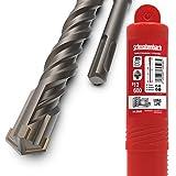 SCHWABENBACH ® Broca SDS Plus 12mm x 600 - Broca para hormigón - Perforación precisa y rápida en hormigón - Calidad superior con punta de carburo - Broca para mampostería larga