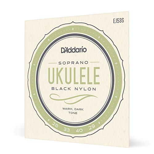 D'Addario ダダリオ ウクレレ弦 Pro-Arte Rectified Black Nylon Soprano EJ53S 【国内正規品】