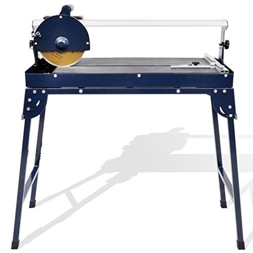 Wakects Cortadora de azulejos radial, cortadora de azulejos profesional, eléctrica, 200 mm,...