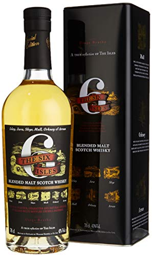 Six Isles Blended Malt Scotch Whisky, 1er Pack (1 x 700 ml)