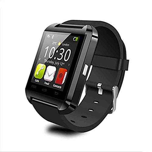 New Smartwatch Bluetooth Suitable for IOS Android Smart Phone Sleep Monitor Clock Wearable Device Sport Smart Watch, black