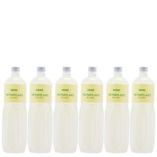 【業務用】 100% レモンジュース (レモン果汁100%) 1L ペットボトル×6本