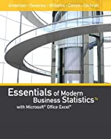 Essentials of Modern Business Statistics: With Microsoft Office Excel