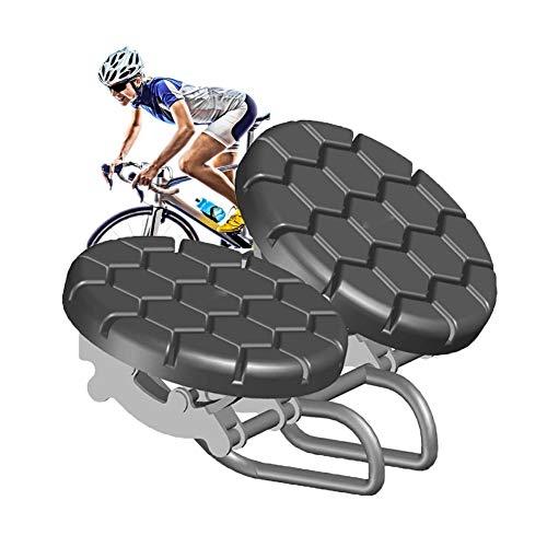 LXNQG Asiento Antiprostáticos, Sillín Bicicleta Gel Muy Comodo Impermeable con Sin Presión...