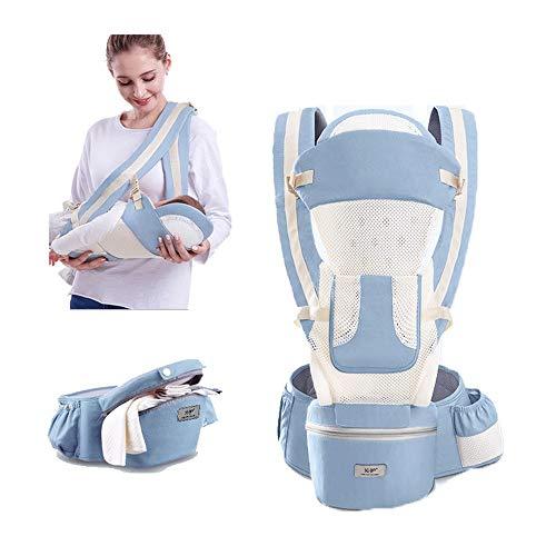 CXYGSJJ Sling Portabebés para Portabebés Portabebés Delantero Y Trasero, Envoltura Ajustable Transpirable Envoltura Ergonómica Portabebés para Bebés Manos Libres (Color : A)