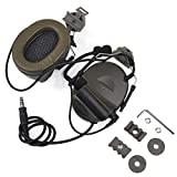【Z-TAC Official Store】 Z-Tactical Comtac II Tactical Headset Z041 + Fast Rotatable Adapter Z147 Noise Canceling Sound Collection G:1 Non-Mil-Spec Olive Green