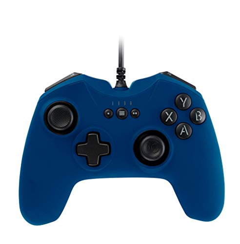 Manette de jeu Bleu 2 moteurs de vibrations Nacon pour PC GC-100XF