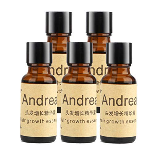 5 x 20ML Andrea Hair Growth Essence Hair Loss Stop Fast Hair Growth Products Regrow by Andrea
